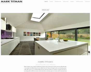 Mark Titman, part II architect designer - based in Dorset/Greenwich.